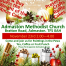 Christmas Fayre being held at Admaston Methodist Church, 23rd November 2pm - 4pm. Come and join us for Paintings in the Pews, tea, coffee or fruit punch.