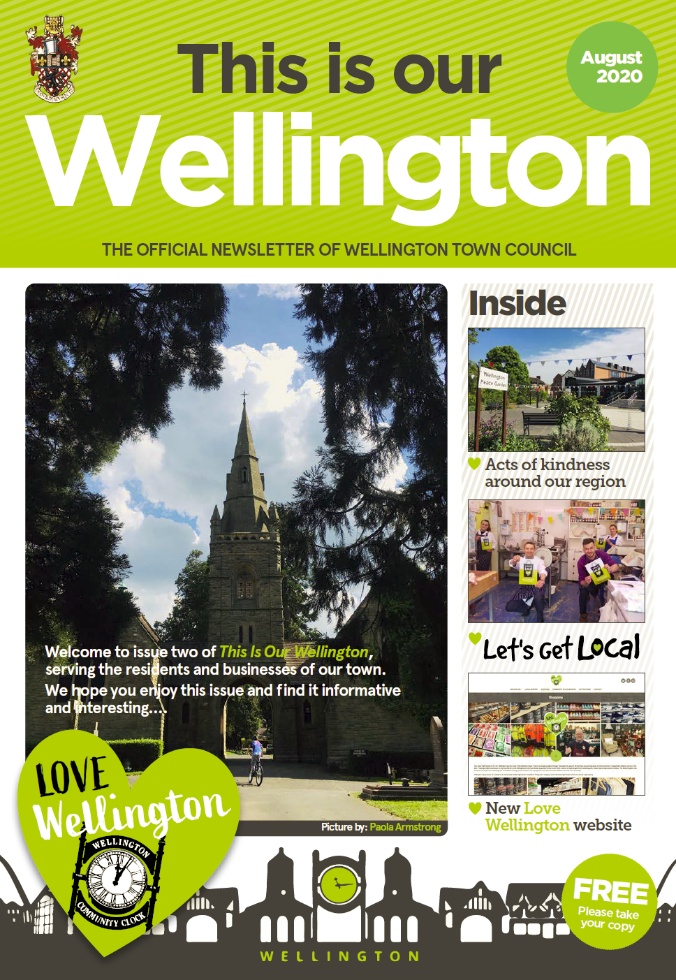 This is our Wellington - Click to view PDF Newsletter