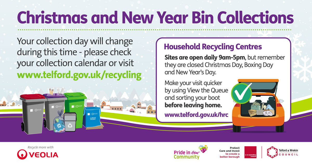 Collection Day Changes over Christmas and New Year
