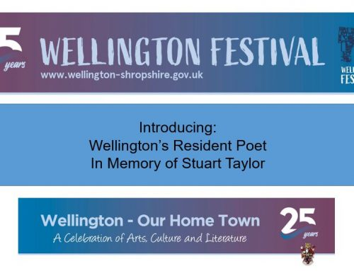 Wellington Festival: Introducing the Resident Poet