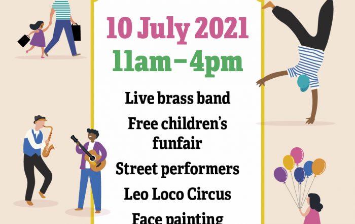Wellington High Street Celebration, coming soon!