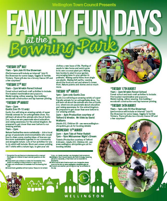 Family Fun Days at the Bowring Park